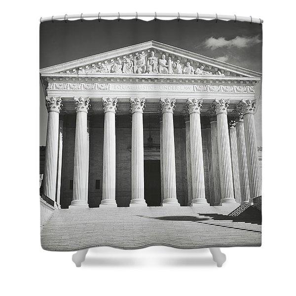 Supreme Court Building Shower Curtain