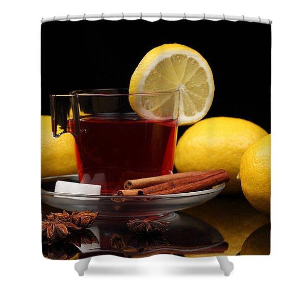 Tea Shower Curtain