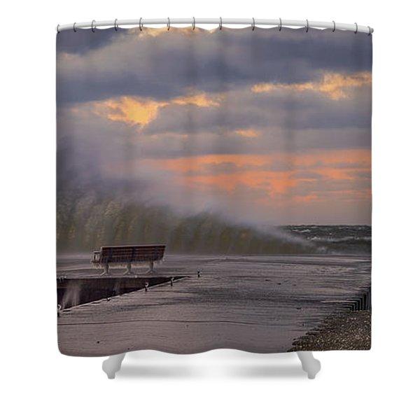 60 Mph Shower Curtain