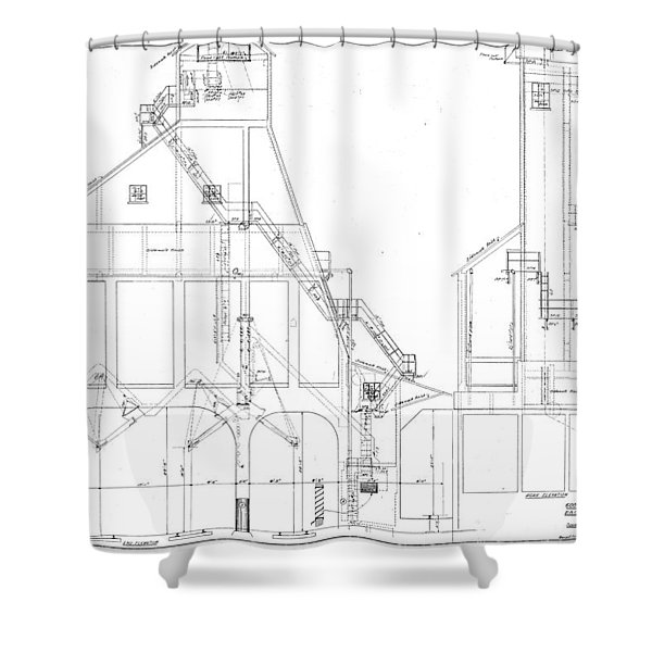 600 Ton Coaling Tower Plans Shower Curtain