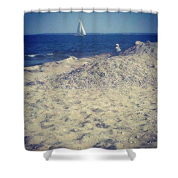 Cape Cod Scene Shower Curtain