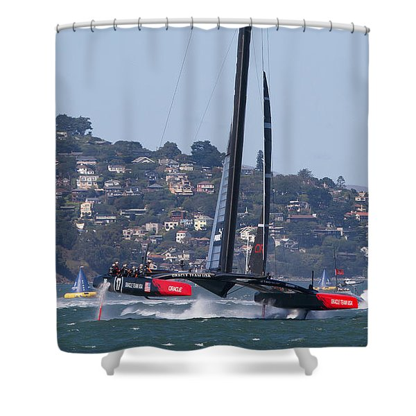 America's Cup 34 Shower Curtain