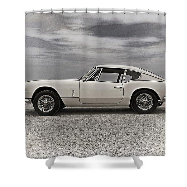 '67 Triumph Gt6 Shower Curtain