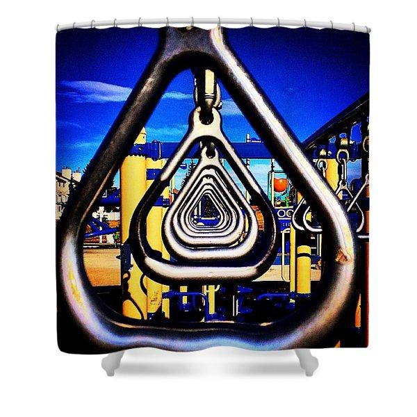 Tri Eye Shower Curtain