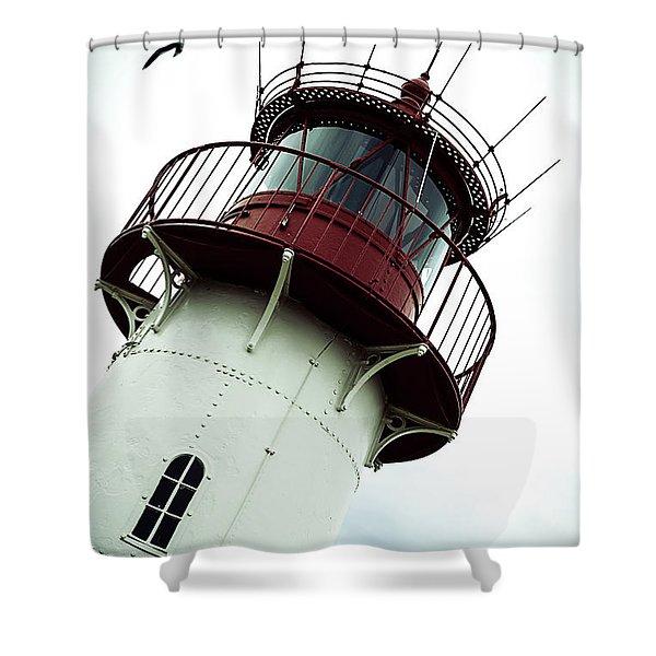 Lighthouse Shower Curtain by Joana Kruse