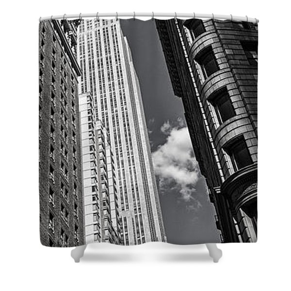 Shower Curtain featuring the photograph New York  by Juergen Held