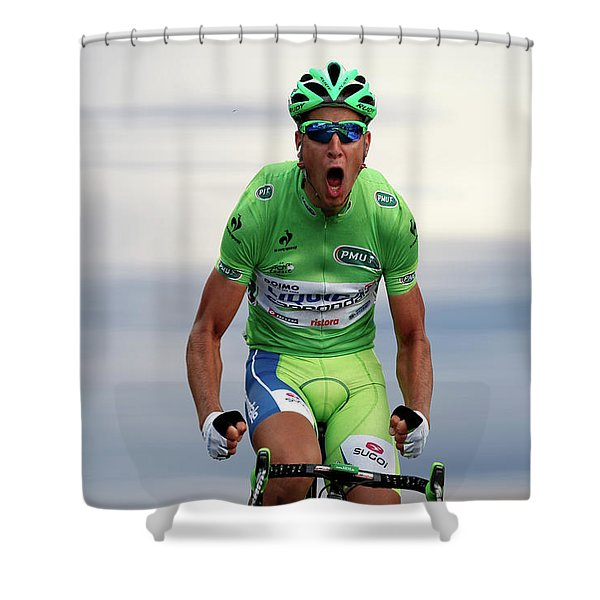 Peter Sagan 7 Shower Curtain