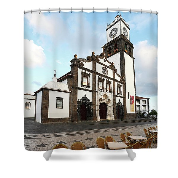 Ponta Delgada, Azores Shower Curtain