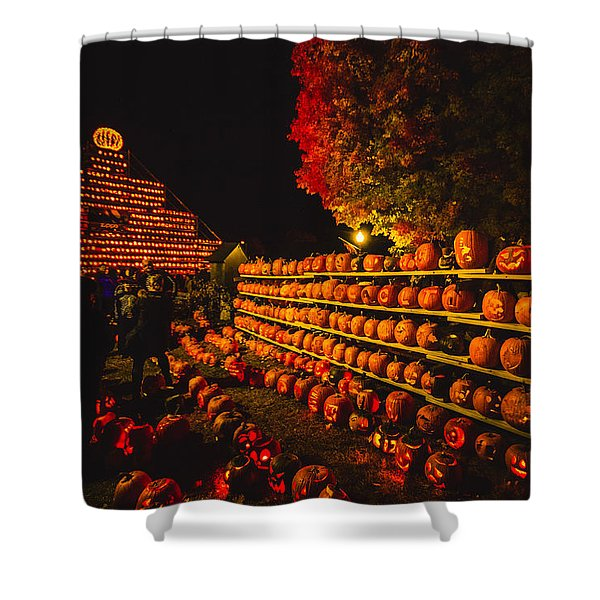 Pumpkinfest 2015 Shower Curtain