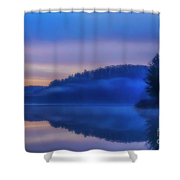 Winter Dawn Shower Curtain