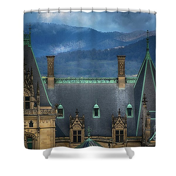 Biltmore Estate Shower Curtain