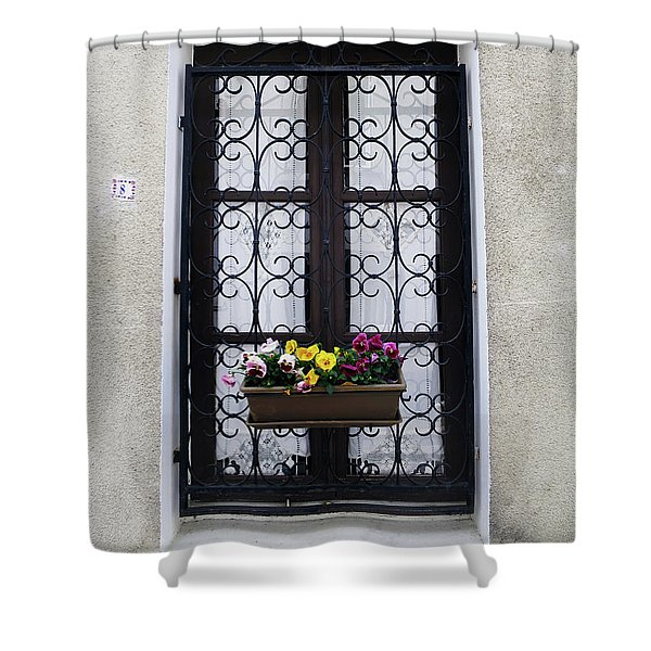 8 Rue Amboise Shower Curtain