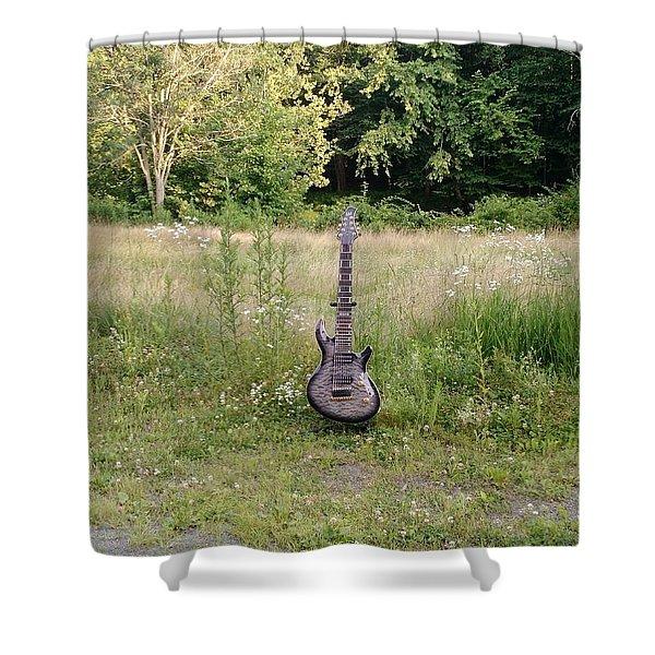 8 String Esp Ltd Jr608 2 Shower Curtain