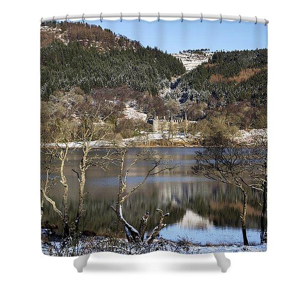 Trossachs Scenery In Scotland Shower Curtain