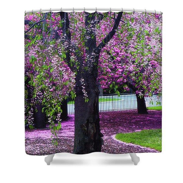 Sublime Spring Shower Curtain