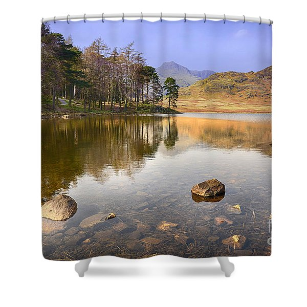Blea Tarn Shower Curtain