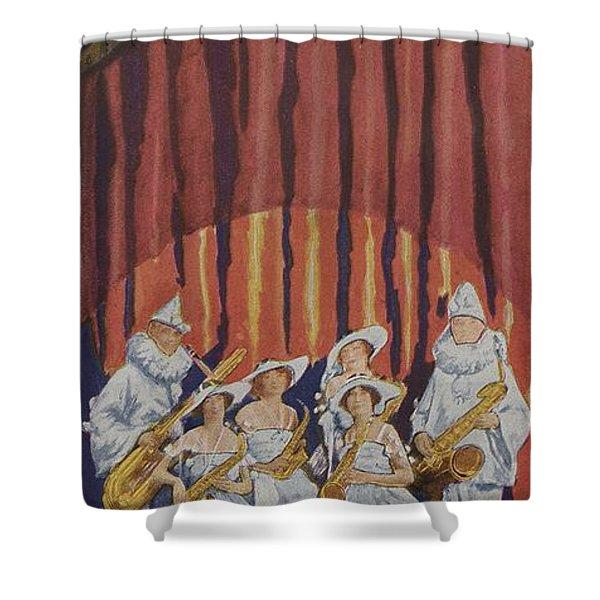 Brass Bands Shower Curtains | Pixels