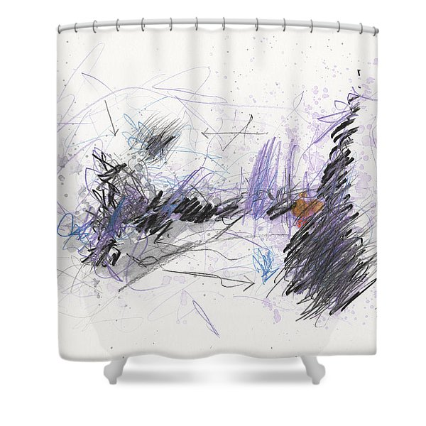 A Beast Of A Night Shower Curtain