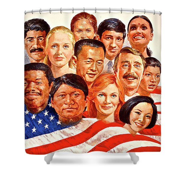 A Beautiful Day In The Neighborhood  Shower Curtain