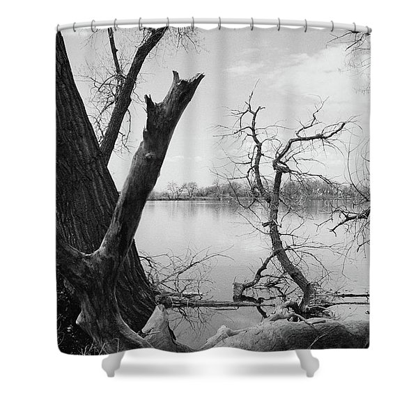 A Beautiful Mess Shower Curtain