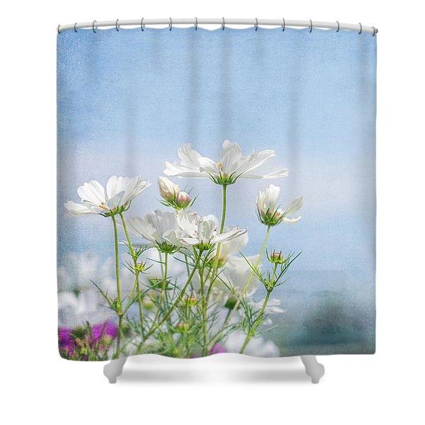 A Beautiful Summer Day Shower Curtain