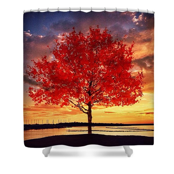 A Better Life Lived Shower Curtain