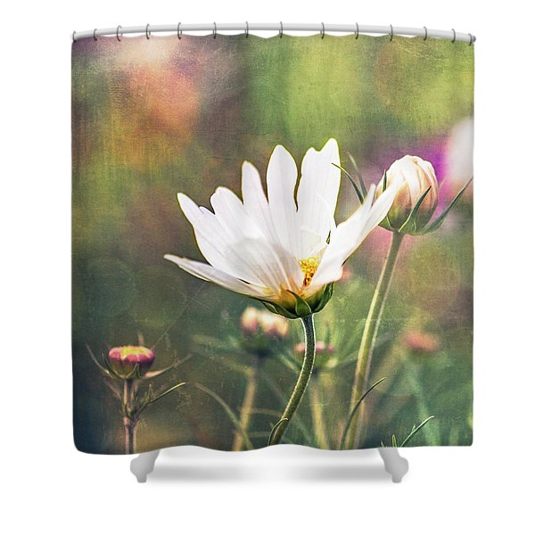 A Bouquet Of Flowers Shower Curtain
