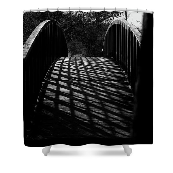 A Bridge Not Too Far Shower Curtain