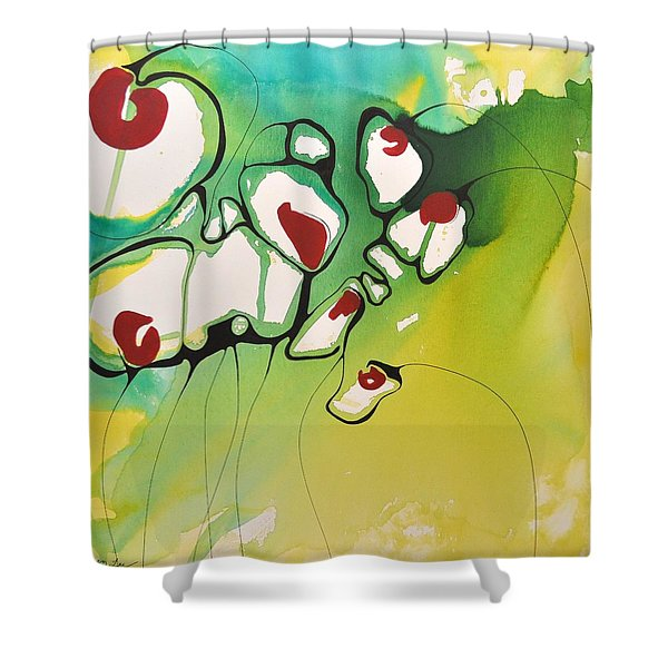 A Caged Feeling Shower Curtain