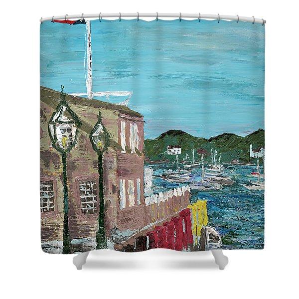 A Cape Cod Dream Shower Curtain