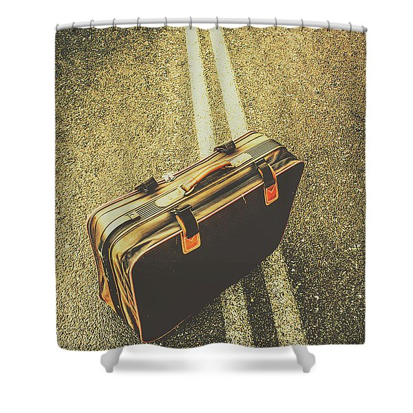 A Case For Adventure Shower Curtain