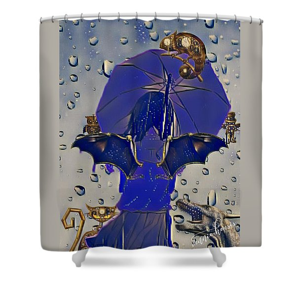 A Child's Invisibles Shower Curtain