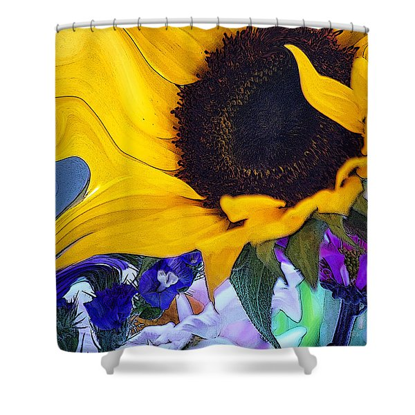 A Childs Mind... Shower Curtain
