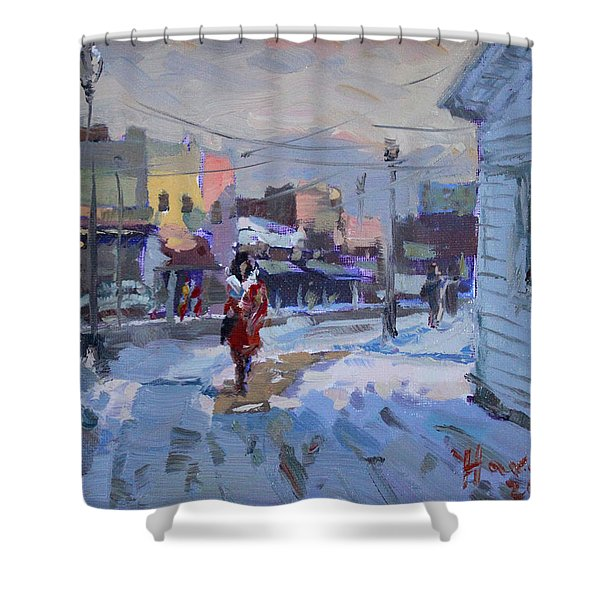 A Cold Afternoon In Tonawanda Shower Curtain
