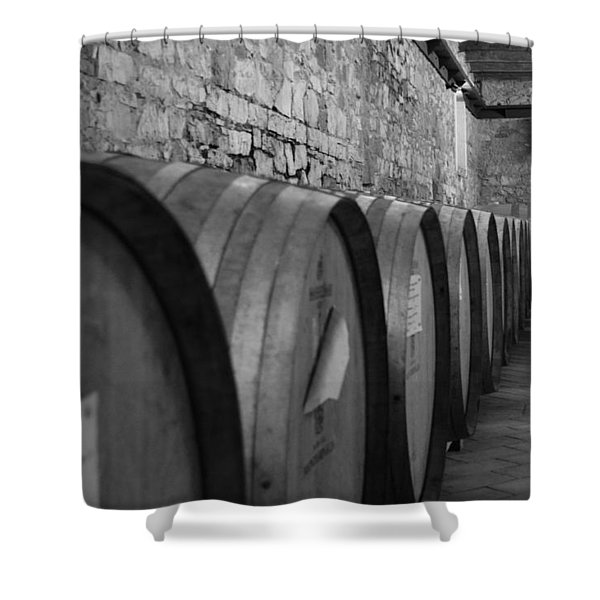A Cool Dry Cellar Shower Curtain
