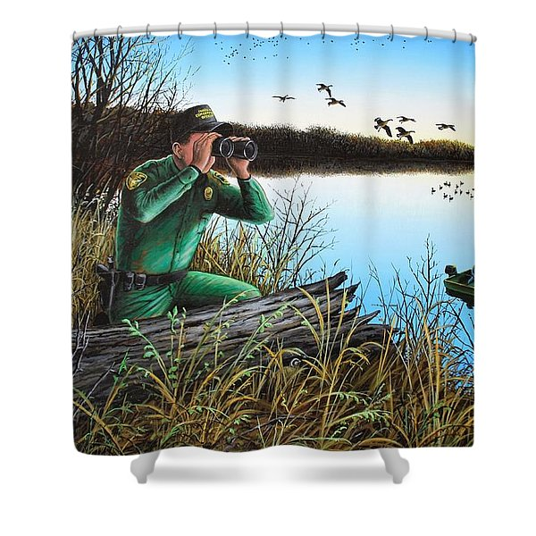 A Day At The Office - Icoo Shower Curtain