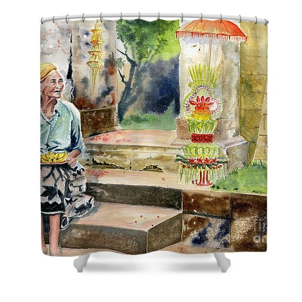 A Day In A Life Shower Curtain