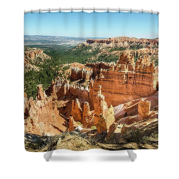A Day In Bryce Canyon Shower Curtain