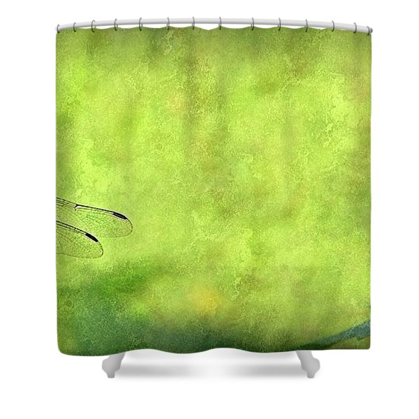 A Day In The Swamp Shower Curtain