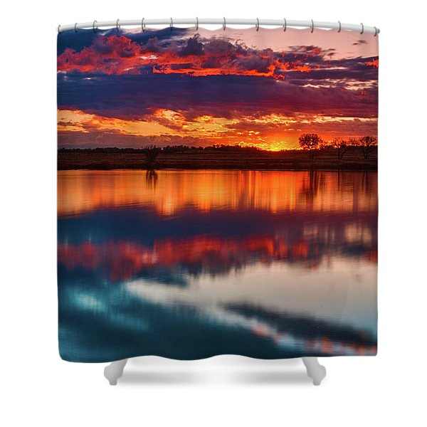 A Denver Dawn Shower Curtain