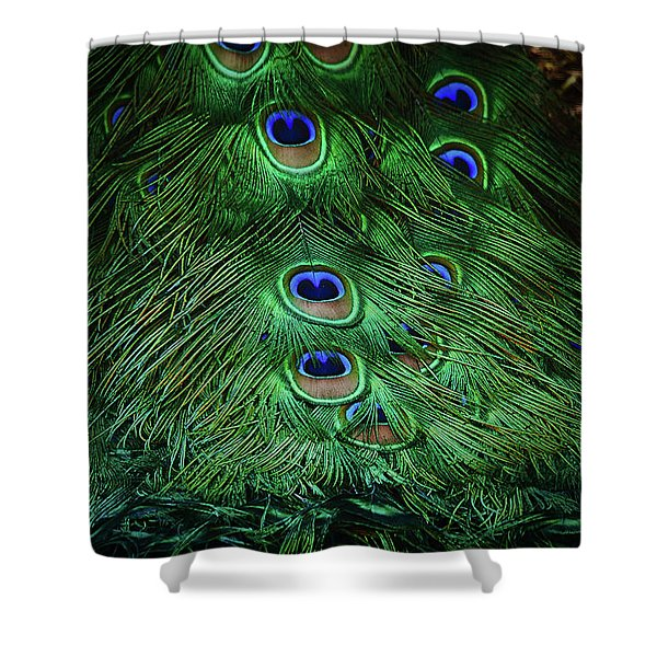 A Different Point Of View Shower Curtain