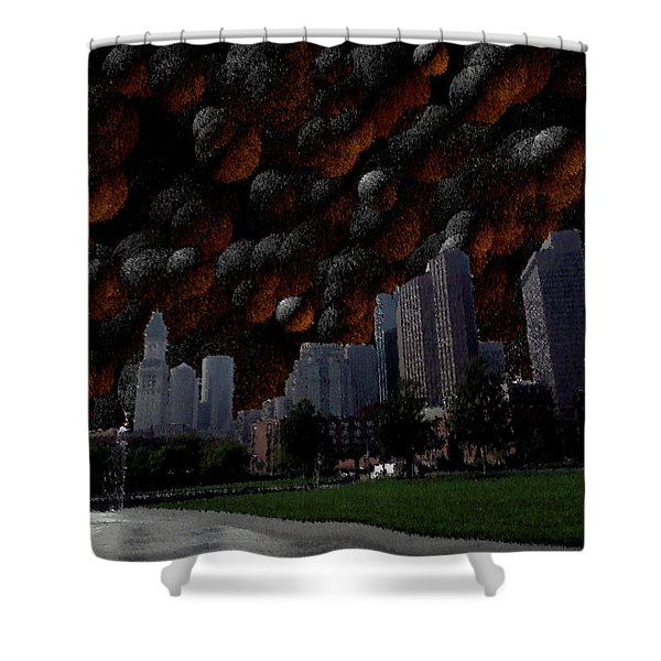 A Dimension Of Boston Rarely Seen Shower Curtain