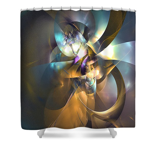 A Distant Melody Shower Curtain