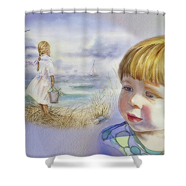 A Dream Of An Ocean Shower Curtain
