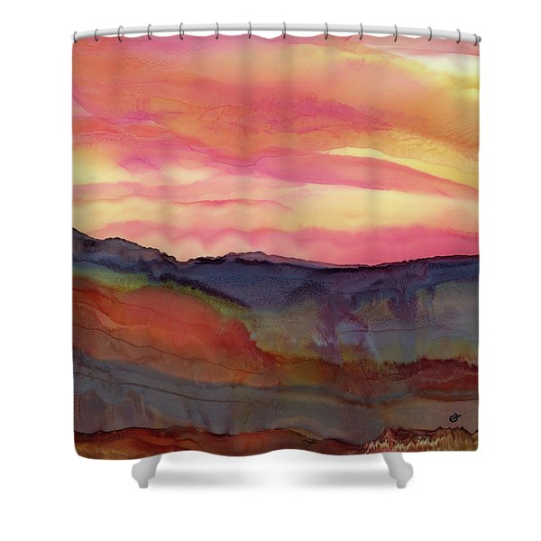 A Far Cry From Home Shower Curtain
