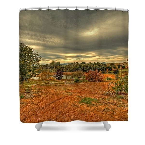 A Farm In Bridgetown, Western Australia Shower Curtain
