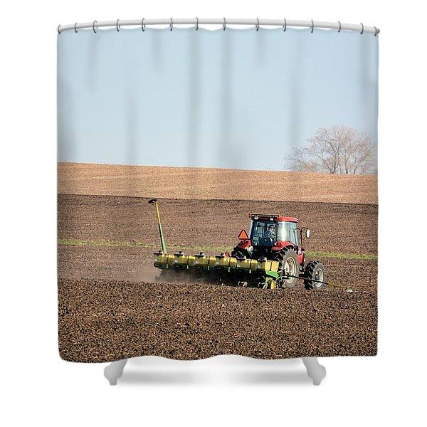 A Farmers Life Shower Curtain