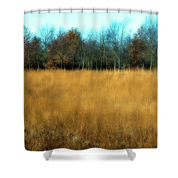 A Field Of Browns Shower Curtain