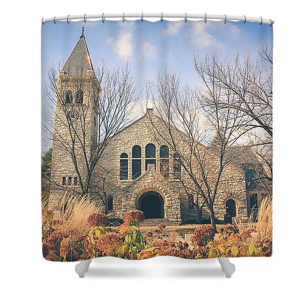 A Fine Autumn Day Shower Curtain