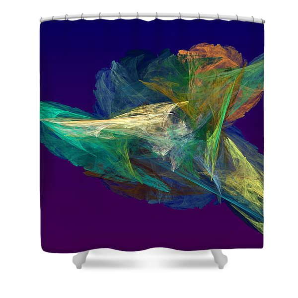 A Fleeting Moment Shower Curtain